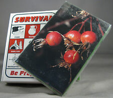 Survival Playing Cards + Plant ID Deck Zombie Apocalypse Survival Kit Food W