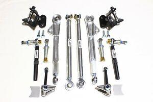 BMW E36 E36M3 Z3 Z3M RACE control arm kit billet aluminum DTM style w/ tie rods