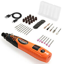 Cordless Rotary Tool Kit Lithium-Ion Battery Powered w/3 Speeds 40 Accessories