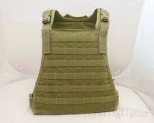 FLYYE MOLLE MBSS Plate Carrier Tactical Vest – Khaki Black Coyote Brown OD Green