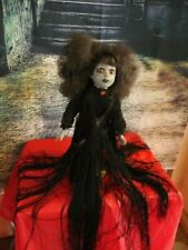 """Ooak Evil Countess Cassandra Doll, Dont Look into her Eyes, Death by Dolls"""""""