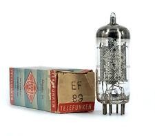 EF89/6DA6 TELEFUNKEN NOS Tube Röhre Valvola Lampe TSF Valve Valvula 진공관 真空管