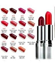 Avon Beyond Color Lipstick RED - POWER TRIP Retinol Collagen Plumping Lips SPF15