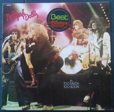 New York Dolls Too Much Too Soon 33T LP france french pressing 9100 002