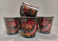 Instant Noodle Daebak Ghost Pepper Spicy Chicken 80g 1 Cup Free / Fast Shipping!