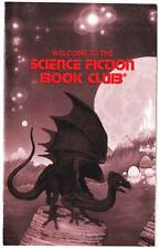 WELCOME TO THE SCIENCE FICTION BOOK CLUB - 1970s promotional pamphlet
