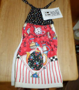 Mary Engelbreit Kitchen Terry Towel - Cup of Kindness - with tags - made in USA!