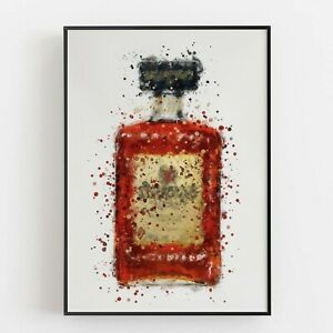 P0128 | Liqueur Bottle | Wall Art Print | Poster | Liquor | Bar | Restaurant