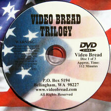 Artisan Bread Baking Class - 7 hrs 4 DVDs (oven pan cooking hobart bakery) *AAAA