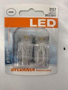Sylvania 3157 LED Automotive Lighting Bulbs - Also Fits 3057, 3047