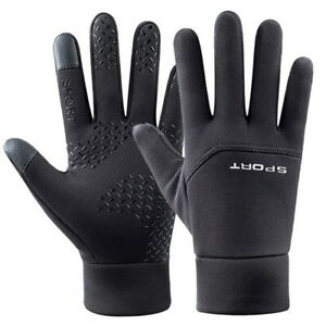 Men Women Sports Thermal Liner Gloves Touch Screen Running Walking Gloves sef