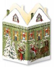Mini Advent Calendar  - Nostalgic House Lantern - Green House