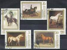 CCCP / USSR gestempeld serie - Paarden (024)