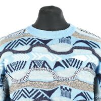 90s Vintage Cosby Sweater | Jumper Knit Knitwear 3D Hip Hop Retro