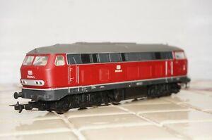 RF36] PIKO H0 57503 Diesel Locomotive Br 218 DB Original Packaging