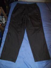 "Mens Summer Tracksuit Bottoms Pants sports trousers M 34"" black Dunlop Golf"