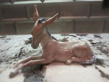 New Listing Lladro #4679 Nativity Donkey Glazed Finish Very Nice No Damage