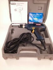 """Ryobi 3/8"""" D41 Drill Double Insulated Corded Electric Variable Speed  With Case"""