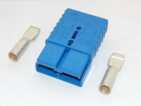 NEW! Clark Forklift : 350 Blue Battery Connector 2/0 Assembly (2304932) {D1179}