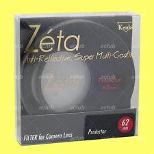 Genuine Kenko 62mm Zeta Super Multi-Coating Lens Protector Clear Filter