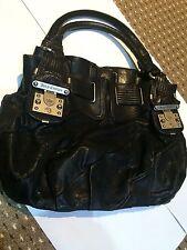 Juicy Couture, 'Medium Freestyle Hobo' Black Leather Hobo Bag