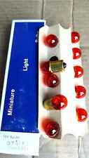 10BULBS #97NA,97A,AMBER,12 VOLT,4CP CAN BE USED FOR#89 OR# 67(ON OLDER CARS)2.3.