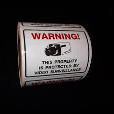 LOTS SECURITY BURGLAR CCTV SPY CAMERAS WARNING STICKERS