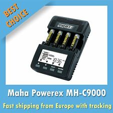 Powerex MH-C9000 Battery Charger Analyzer Tester NiMH NiCd AA AAA Maha Europlug