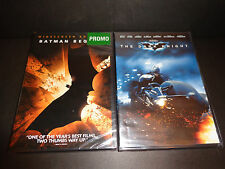 BATMAN BEGINS & THE DARK KNIGHT-2 DVDs-Christian Bale, Heath Ledger, M Freeman