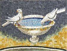 Mosaic Mural - Paradise Pigeons