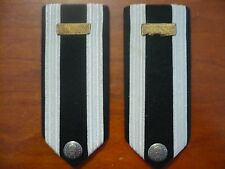 COLLECTABLE USAF?  SHOULDER BOARDS MARKS N.S. MEYER NEW YORK A/F MESS DRESS WW2?