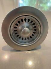 "BLANCO Brushed Stainless Steel 441093 Kitchen Drain Basket Strainer 3.5"""