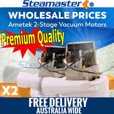 Carpet Shampoo Machine 2 x 2 Ametek Vacuum Motor Suits Cleaning Extractor SALE