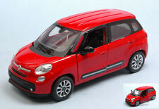 NEW RAY 1:32 AUTO DIE CAST FIAT 500L ROSSA   ART 51193