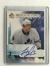2008-09 SP Authentic Sign of the times Auto - Luke Schenn
