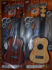 2Pcs New Kids Mini 4 String Acoustic Plastic Guitar Music Toy Play