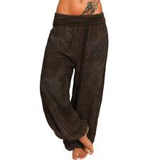 Pantaloni da donna marrone in cotone taglia 40