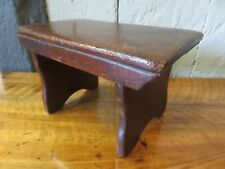 Rare Early 1800s Early Small Low Country Foot Stool Stand
