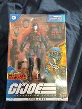 Hasbro G.I. Joe Classified Series Special Missions: Cobra Viper New in Box
