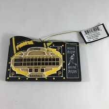 NEW MLB Pittsburgh Pirates Resin Baseball Scoreboard Ornament