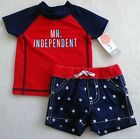 NWT Carter's Boys Swim Set with UPF 50 Size 3Months NEW