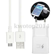 EU Plug 5V 2A USB Adaptive Fast Power Wall Charger Adapter+Data Cable ! ❤