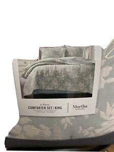 Martha Stewart Quilts,8 Piece Cal King Comforter Set King,New! Accept Offer $460