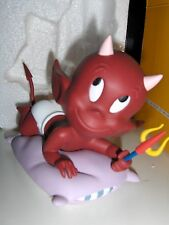 Extremely Rare! Hot Stuff Baby on Pillow Demons & Merveilles Figurine Statue