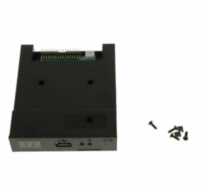 "SFR1M44-U100K Black 3.5"" Floppy Disk Drive to USB emulator Simulation 1.44MB BN"