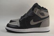 2c7f481bf8452d New Nike Air Jordan 1 Retro High OG Shadow BG Black Medium Grey 575441-013