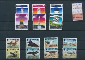 LN29581 Jersey 1999 lighthouses birds animals fine lot MNH cv 26 EUR