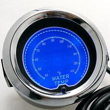 "Car 2"" 52mm LCD Digital Water Temp Gauge Universal Adjustable water temperature"