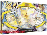 Pokemon Collezione Speciale Pikachu-GX e Eevee-GX italiano dal 1 novembre