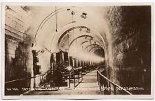 Real Photo Postcard Interior Tunnel @ Arrow Rock Dam in Boise, Idaho~106515